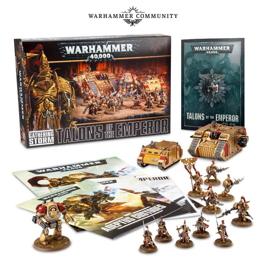Talons of the Emperor Gathering Storm Box Warhammer Community