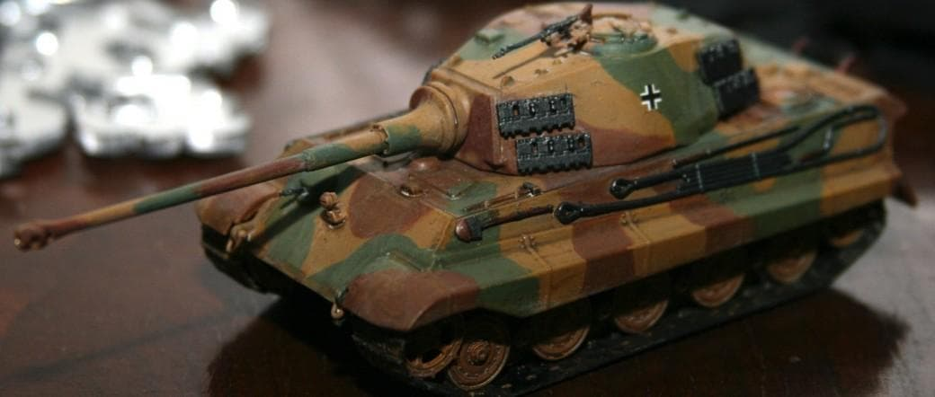 King Tiger in 1:72 scale by Revell